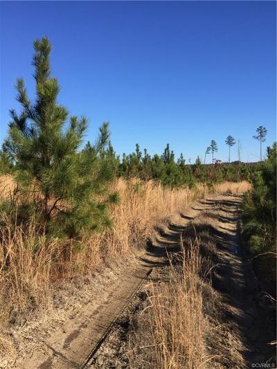 Dinwiddie County Residential Lots & Land For Sale: Depot Road