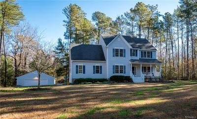 Chesterfield Single Family Home For Sale: 14721 Nash Road
