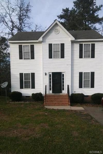 Henrico Single Family Home For Sale: 1444 Almondberry Place