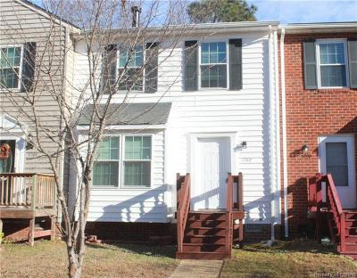 Williamsburg Condo/Townhouse For Sale: 1702 Skiffes Creek Circle