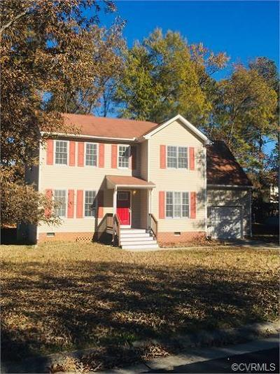 Henrico County Rental For Rent: 1612 Saddlehorse Place