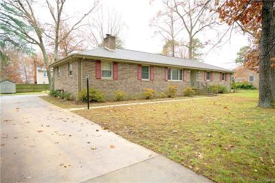 Chester Single Family Home For Sale: 3611 Wood Dale Road