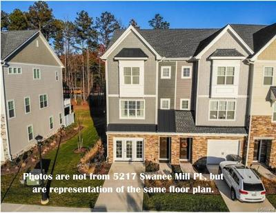 Glen Allen Condo/Townhouse For Sale: 5217 Swanee Mill Place #3