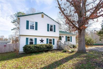 Ruther Glen Single Family Home For Sale: 2603 Deerfield Road