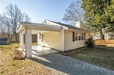 Powhatan Single Family Home For Sale: 5909 Old Buckingham Road