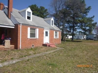 Henrico Single Family Home For Sale: 5300 Nine Mile Road
