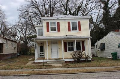 Petersburg Multi Family Home For Sale: 927 Farmer Street