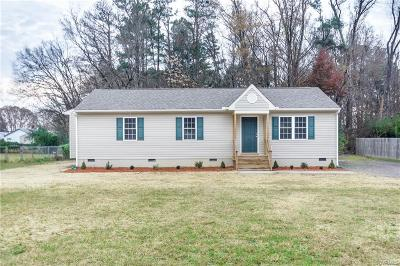 Chesterfield Single Family Home For Sale: 5804 Meadowview Drive