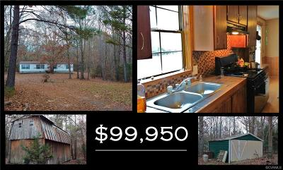 Amelia County Single Family Home For Sale: 10111 Jennings Lane