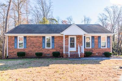 Mechanicsville Single Family Home For Sale: 9066 Fayemont Drive