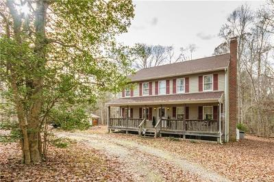 Sutherland VA Single Family Home For Sale: $274,000