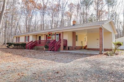 Powhatan Single Family Home For Sale: 2454 Manakintown Ferry Road