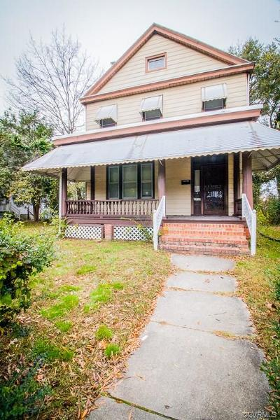 Richmond Single Family Home For Sale: 2212 2nd Avenue