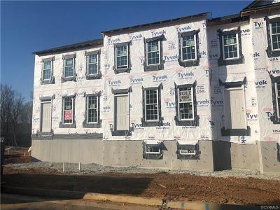 Midlothian Condo/Townhouse For Sale: 1321 Winfree Creek Lane