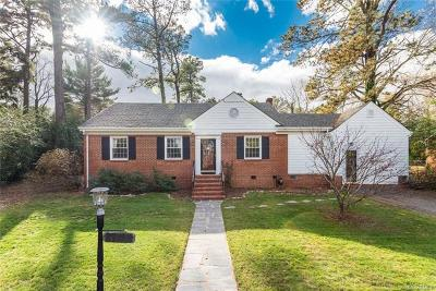 Richmond Single Family Home For Sale: 6917 Monument Avenue