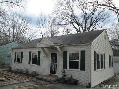 Hopewell Single Family Home For Sale: 1300 Stewart Avenue