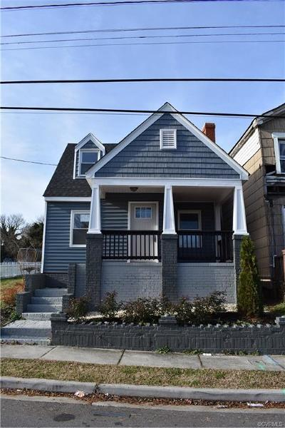Richmond Single Family Home For Sale: 84 West Pilkington Street