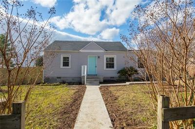 Henrico Single Family Home For Sale: 7012 Harrison Avenue