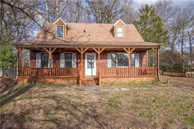 Dinwiddie County Single Family Home For Sale: 3705 Susie Drive