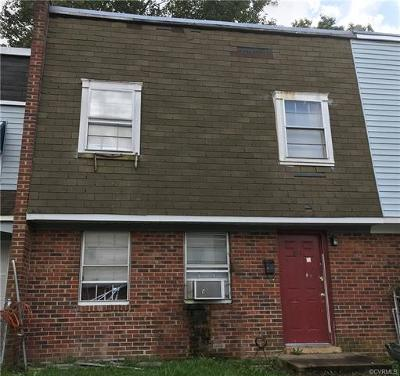 Richmond Single Family Home For Sale: 3341 Dill Avenue