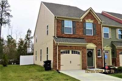 Hanover County Condo/Townhouse For Sale: 9004 Ringview Drive