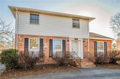Henrico Single Family Home For Sale: 9109 Hungary Road