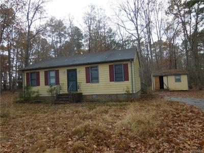 Chesterfield Single Family Home For Sale: 11817 River Road