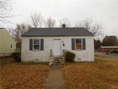 Hopewell Single Family Home For Sale: 404 Memorial Avenue
