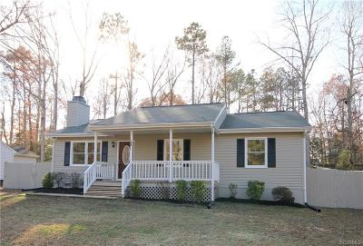 Ruther Glen Single Family Home For Sale: 259 Somerset Drive