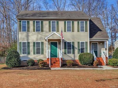 Chesterfield Single Family Home For Sale: 15612 Corte Castle Court