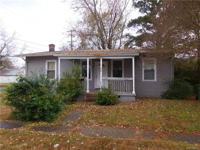 Hopewell Single Family Home For Sale: 100 North 4th Avenue