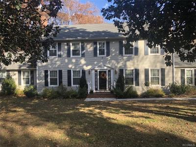 Henrico Single Family Home For Sale: 8321 Fulham Drive