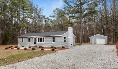 Powhatan Single Family Home For Sale: 1744 Jeter Road