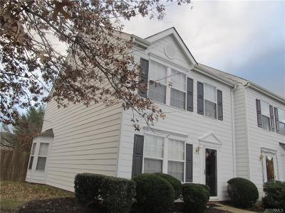 Glen Allen Condo/Townhouse For Sale: 2913 Mary Beth Lane