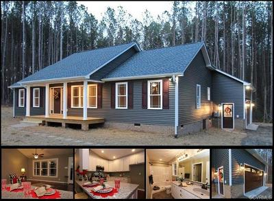 Amelia County Single Family Home For Sale: 19151 Poor House Road