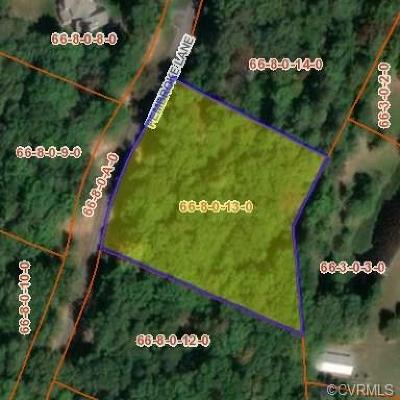 Goochland County Residential Lots & Land For Sale: Pembroke Lane