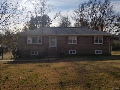 Mechanicsville Single Family Home For Sale: 7365 Barnette Avenue