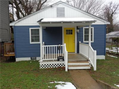 Richmond Single Family Home For Sale: 1112 North 21st Street