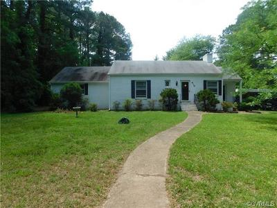 Petersburg Single Family Home For Sale: 410 Amherst Drive