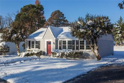 Henrico Single Family Home For Sale: 1204 Hollins Road