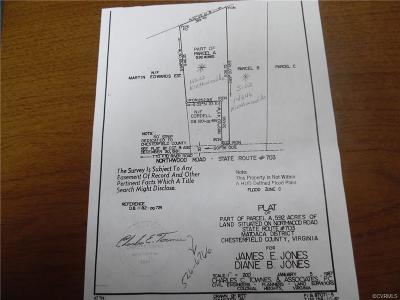 South Chesterfield VA Residential Lots & Land For Sale: $175,000