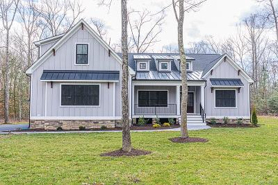 Mechanicsville Single Family Home For Sale: Georgetown Road