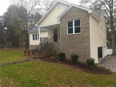 Prince George VA Single Family Home Pending: $268,500