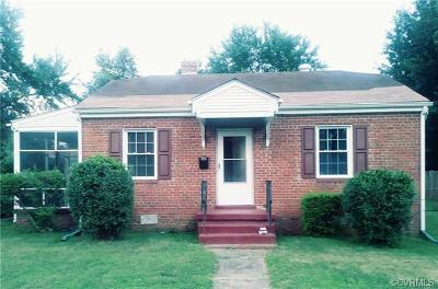 Henrico Single Family Home For Sale: 3103 Winchester Street