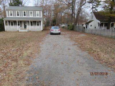 Dinwiddie County Single Family Home For Sale: 23706 River Road