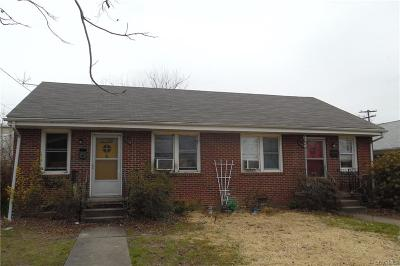 Colonial Heights VA Multi Family Home Sold: $115,000
