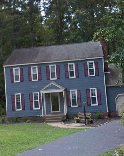 Chesterfield VA Single Family Home For Sale: $179,000