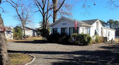 Deltaville Single Family Home For Sale: 162 Hunton Avenue