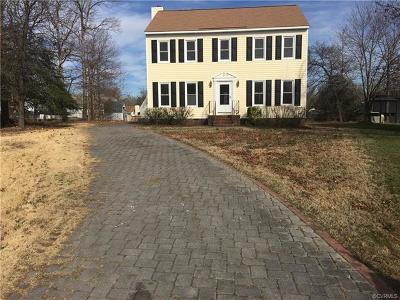 Chester VA Single Family Home For Sale: $225,000