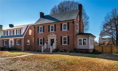Richmond Single Family Home For Sale: 3416 Montrose Avenue